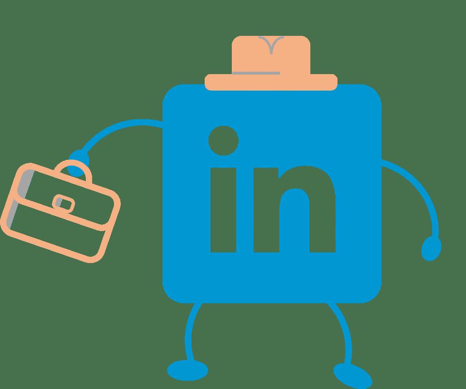 LinkedIn logo - all grown up